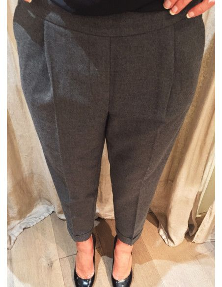 Teoh&Lea grey flannel trousers