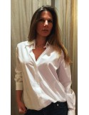 Laurence Bras shirt WALL oversize white