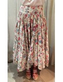 Laurence Bras long skirt Frida chintz