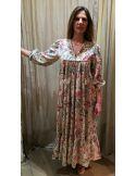 Laurence Bras long dress ROBE INDIENNE chintz