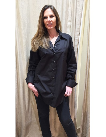 Laurence Bras shirt COSTES oversize black