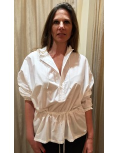 Laurence Bras chemise WOOD blanche
