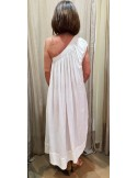 Laurence Bras long dress LOULOU white or ground