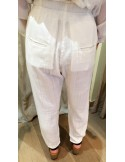Laurence Bras trouser/pants PENCIL white or ground