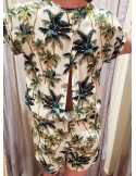 My Sunday Morning Romper LILLY hideway print