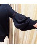 Teoh&Lea pull viscose & linen black
