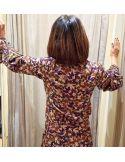 Teoh&Lea blouse floral print viscose