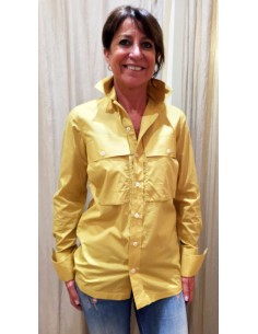 Laurence Bras shirt WILD fitted corn colour