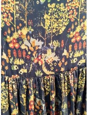 Laurence Bras skirt PEACH forest print