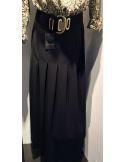 Laurence Bras long skirt RAYS black