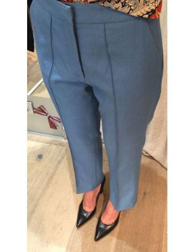 Laurence Bras pantalon paris bleu