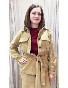 Laurence Bras jacket veste pin beige