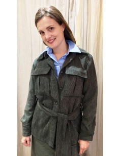 Laurence Bras jacket veste pin green