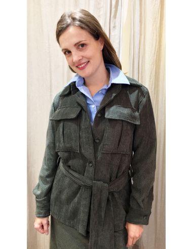 Laurence Bras jacket veste pin green