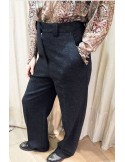 Laurence Bras Large pants PLATE charcoal