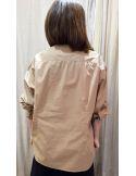 Laurence Bras large shirt DIVISION cotton beige