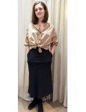 Laurence Bras chemise ample DIVISION popeline beige