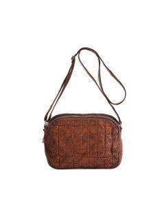 BIBA braided bag mini MISSOURI MSS4L black or cognac