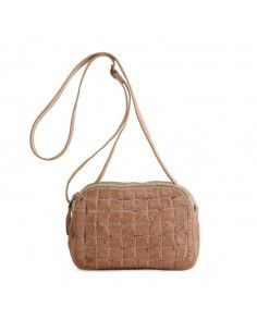BIBA braided bag mini MISSOURI MSS4L black or cognac