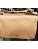 BIBA sac  cuir lisse mini Nashville NAS1L noir, taupe bordeaux beige ou moutarde