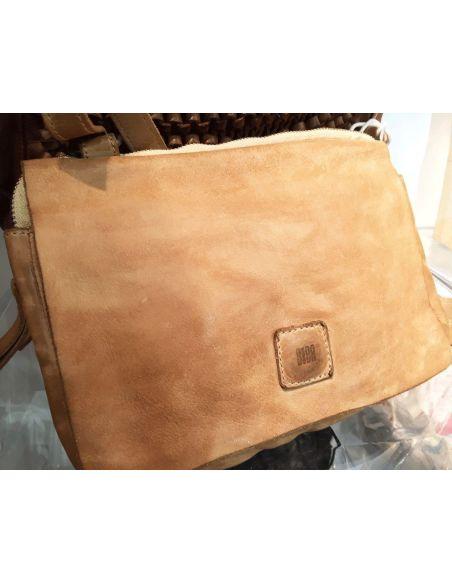 BIBA bag vintage BOSTON BT 15 black brown cognac or beige