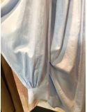 Laurence Bras Chemise ample COSTAS coton bleu ciel