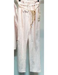 My Sunday Morning MARLOW pants light camel coton