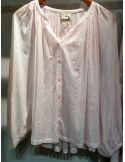 My Sunday Morning Shirt SYLVIA  cotton light pink