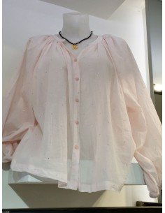 My Sunday Morning Shirt SYLVIA  cotton light pink