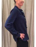 Laurence Bras blouse coton sport carreaux