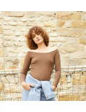 Laurence Bras BODY CLASSIQUE cotton brown