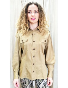 Laurence Bras  SHIRT MAJOR cotton beige