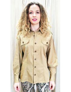 Laurence Bras  SHIRT MAJOR cotton beige