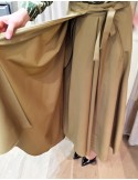 Laurence Bras Jupe ample SMITH laine beige