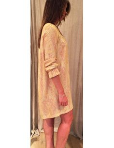 MysundayMorning Robe boheme courte