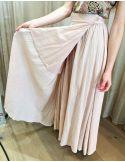 Laurence Bras Long loose skirt BRANDY ligt pink