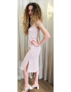 Laurence Bras fonds de robe UNDER rose