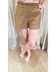 My Sunday Morning Short ALEXIS beige coton