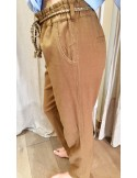 My Sunday Morning pantalon marlow beige coton