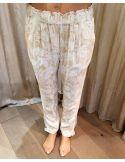 My Sunday Morning MORADA pants forida print viscose