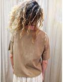 My Sunday Morning Tshirt MICKY beige