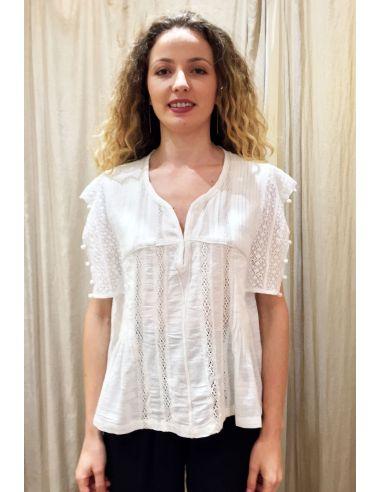 My Sunday Morning Shirt HELGA cotton off white