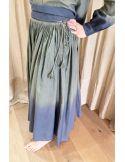 VDeVINSTER jupe dress TIE&DIE dress kaki charcoal