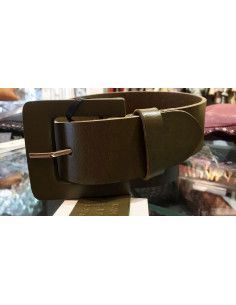 Laurence Bras olive green belt AIGLE LARGE