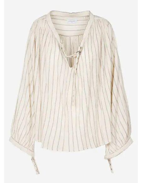 Laurence Bras Shirt MALBORO cotton loose sunbath