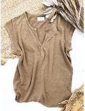 My Sunday Morning Tshirt BECA linen beige