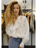 Laurence Bras chemise MINEUR coton white