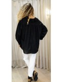 Laurence Bras Shirt MINEUR cotton loose white or black
