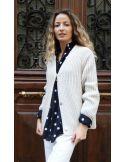 Laurence Bras wool jacket HARMONY oversize bronze