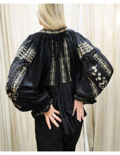 Laurence Bras shirt SHAHI black embroidered